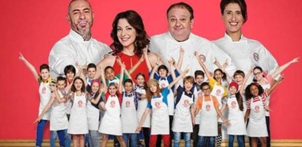 """A primeira edição do programa """"MasterChef Júnior"""" começou no dia 20 de outubro - BBC"""