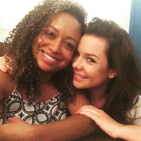 Ex-Chiquititas Aretha Oliveira e Fernanda Souza  - Reprodução/Instagram/aretha_aoliveira