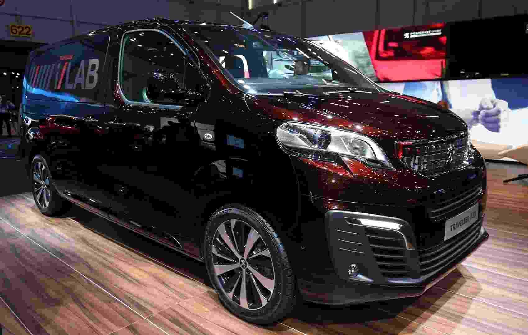 Peugeot Traveller i-Lab Concept - Newspress