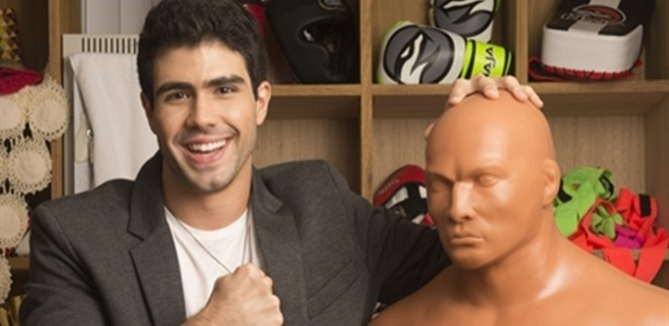 """Laham é Rômulo em """"Malhação"""", um jovem órfão que sonha em ser um lutador de boxe - João Miguel Júnior/TV Globo"""
