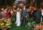 Com plano B, casamento no campo não deixa nem mesmo a chuva atrapalhar - Água Benta Fotografia/Divulgação