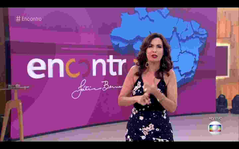 """Logo do """"Encontro"""" ganha nova cara com a volta de Fátima Bernardes das férias - Reprodução/Globo"""