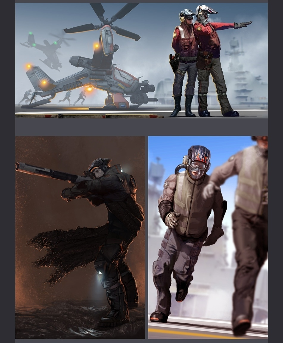 """Imagem conceitual de suposto jogo cancelado do estúdio de """"God of War"""""""