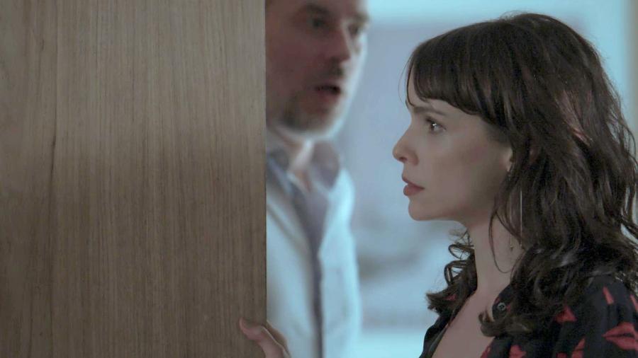 """Eugênio (Dan Stulbach) vai se revoltar contra Irene (Débora Falabella) em """"A Força do Querer"""" - Reprodução/GShow"""