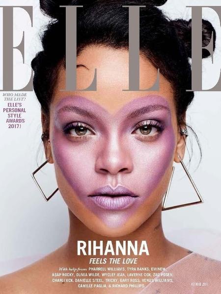 Rihanna, na Elle UK - Divulgação