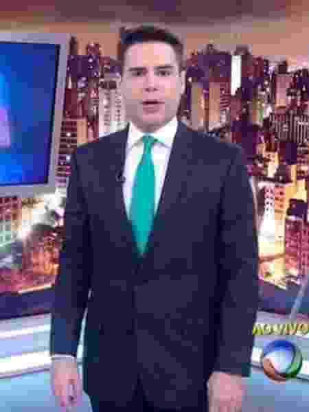 """Luiz Bacci é o novo apresentador do """"Cidade Alerta"""" - Reprodução/TV Record"""