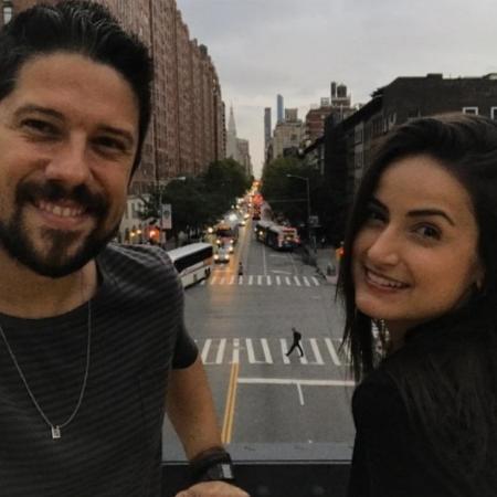 Mari Palma e Phelipe Siani curtem Nova York - Reprodução/Instagram/maripalma
