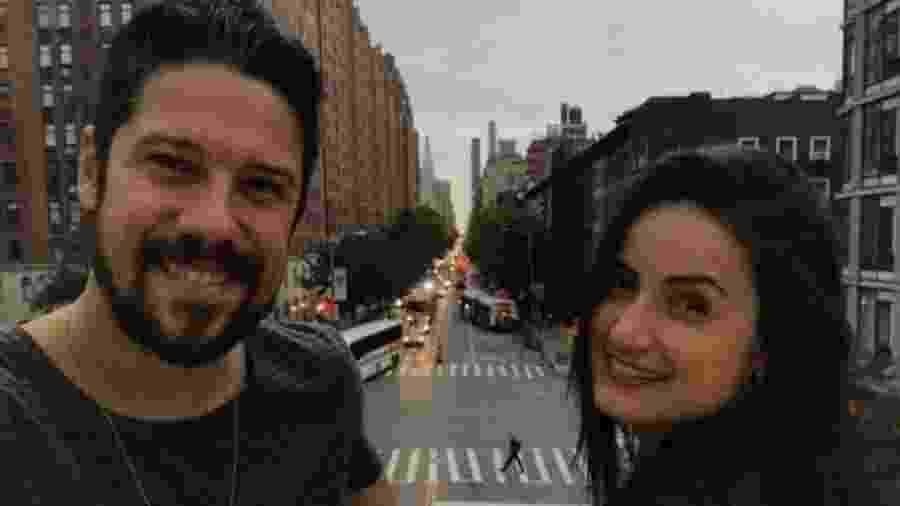 Phelipe Siani e Mari Palma curtem juntos Nova York - Reprodução/Instagram/maripalma