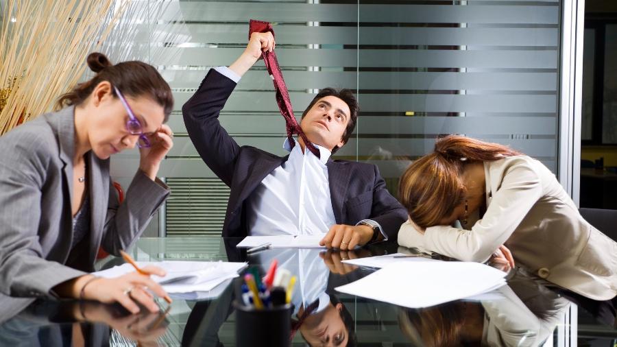 Cerca de dois terços das pessoas, independentemente de suas carreiras, relatam alto nível de insatisfação com seu trabalho - iStock