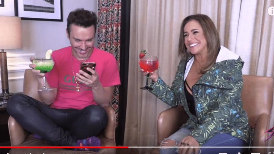 Matheus Mazzafera entrevista Daniela Mercury - Reprodução/YouTube