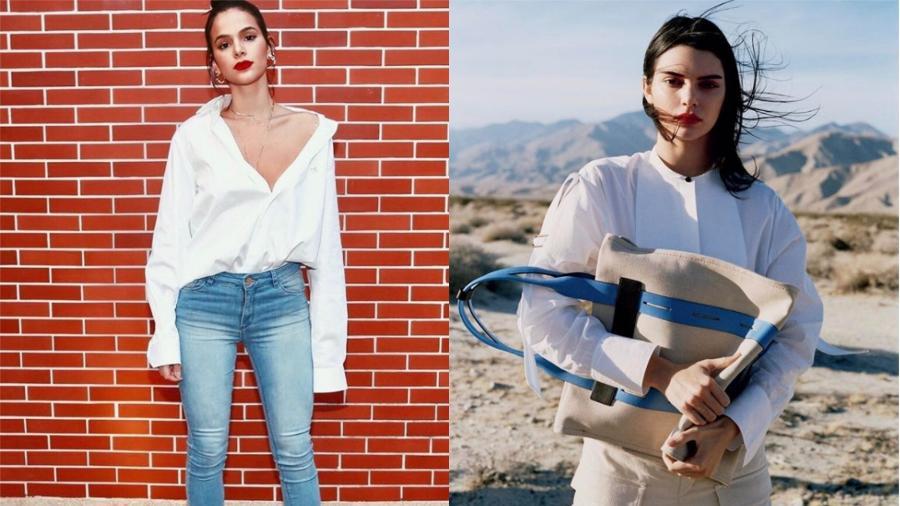 Bruna Marquezine e Kendall Jenner - Reprodução/Instagram
