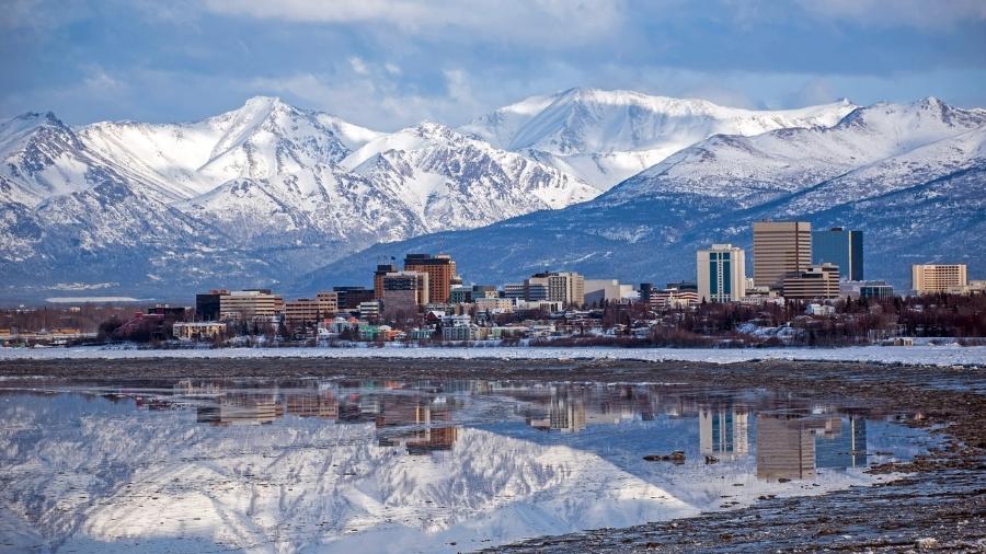 Cidade de Anchorage, no Alasca - Getty Images/iStockphoto