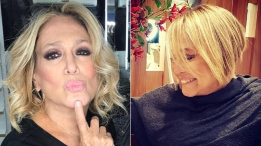 Antes e depois do novo visual de Susana Vieira - Reprodução/Instagram/susanavieira