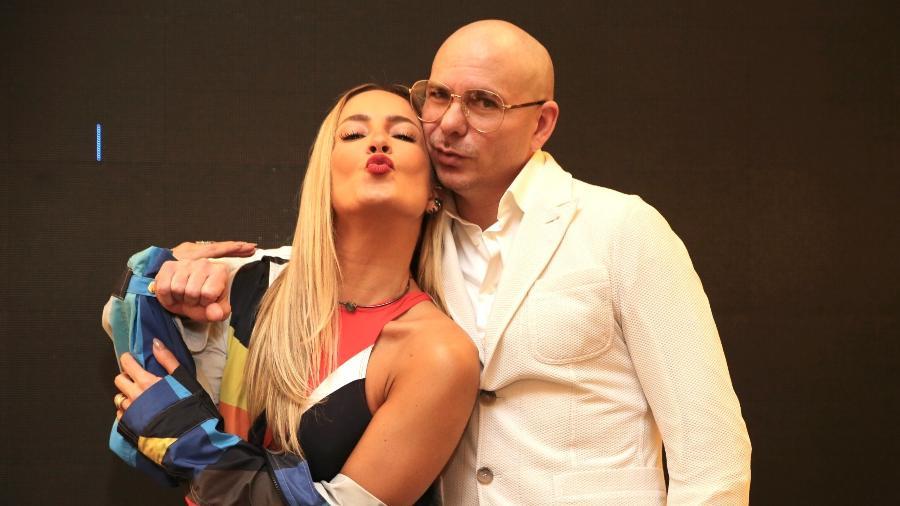 """Claudia Leitte e Pitbull retomam colaboração com """"Carnaval"""" - Manuela Scarpa/Brazil News"""