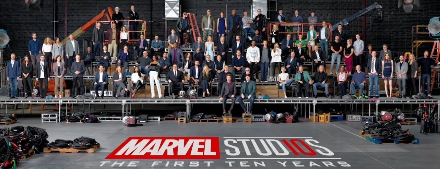 Elenco da Marvel se reúne para comemorar dez anos de estúdio - Divulgação/Marvel