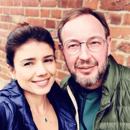 Paula Fernandes e Claudio Mello em Londres - Reprodução/Instagram/paulafernandes