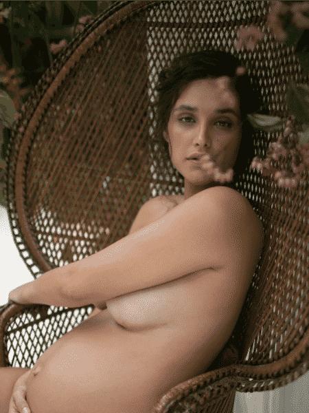 """Débora Nascimento para a """"Nin Magazine"""" - Reprodução/Instagram/@ninmagazine"""