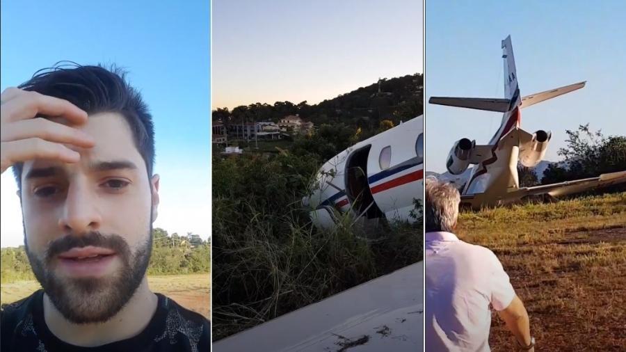 Assustado, Alok mostrou o acidente no Instagram - Reprodução/Instagram