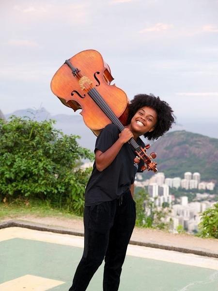 Kely conseguiu bolsa integral para estudar nos Estados Unidos - Arquivo Pessoal