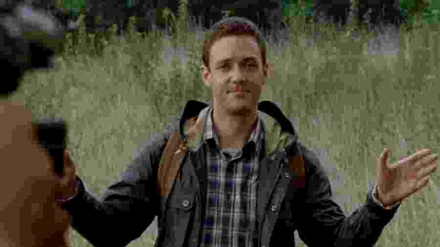 """O personagem Aaron de """"The Walking Dead"""", interpretado por Ross Marquand - Reprodução"""