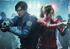 """- leon e claire no remake de resident evil 2 1532282526437 v2 142x100 - Jogador cria modo de jogar demo de """"Resident Evil 2"""" com câmera fixa"""