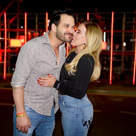Zilu e o namorado Marco Ruggiero - Manuela Scarpa/Brazil News
