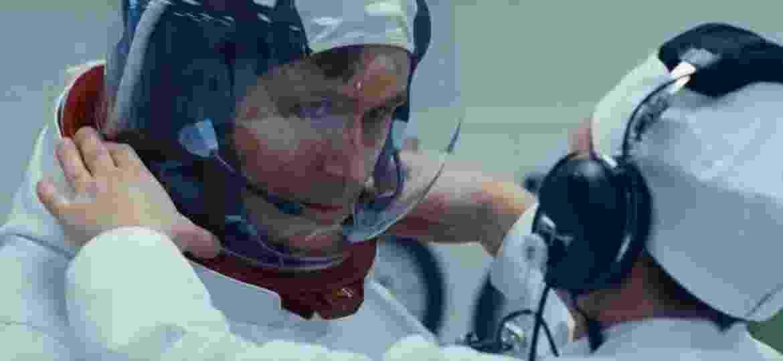 """Ryan Gosling como Neil Armstrong em """"O Primeiro Homem"""" - Divulgação"""