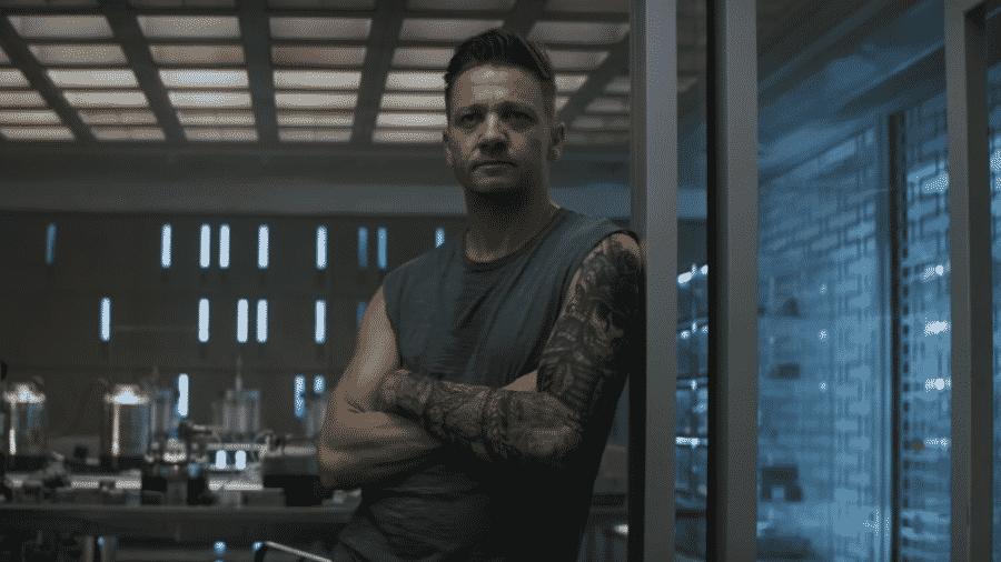 """Ronin (Jeremy Renner) em """"Vingadores: Ultimato"""" - Reprodução/YouTube"""