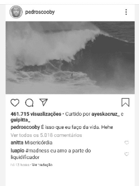 Anitta e Luana Piovani comentam post de Pedro Scooby - Reprodução/Instagram - Reprodução/Instagram