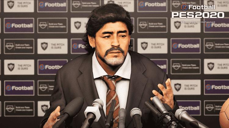 PES 2020 Maradona - Divulgação - Divulgação