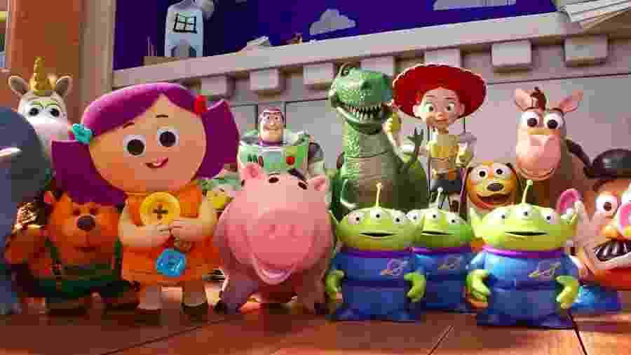 Cena de Toy Story 4 - Divulgação