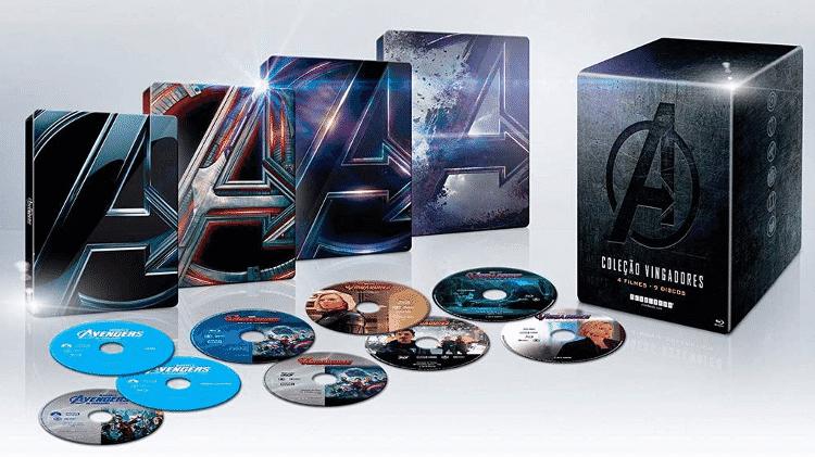 Coleção especial de Vingadores - Reprodução/Amazon