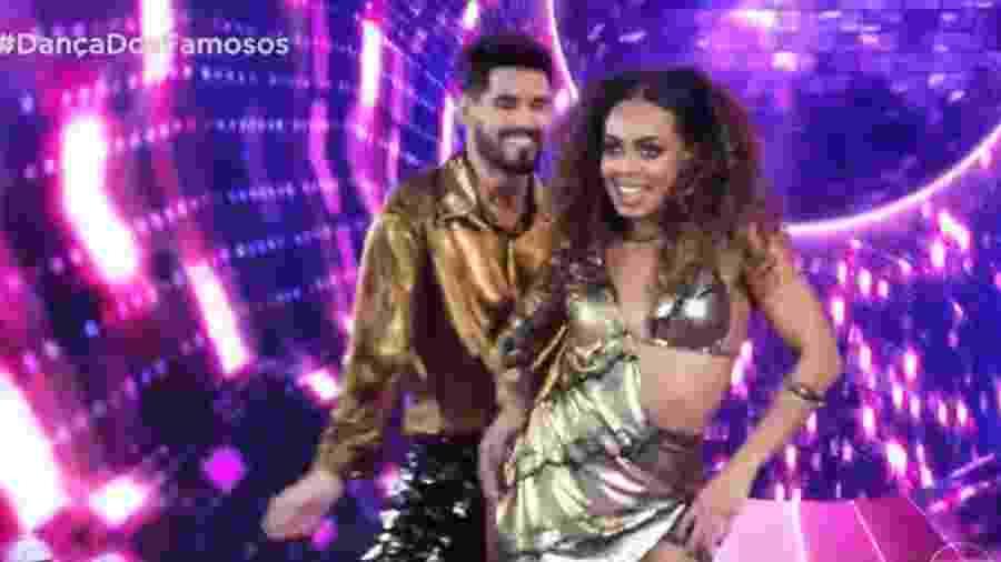 Dandara Mariana e Daniel Norton na Dança dos Famosos - Reprodução
