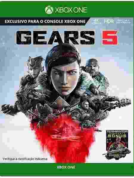 Gears 5 capa - Divulgação - Divulgação