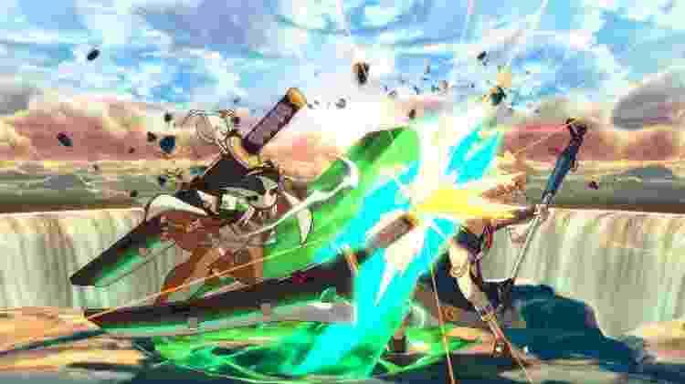 """""""Guilty Gear Xrd REV 2"""", de 2017, mostra bem a qualidade visual e de animação da Arc System Works - Divulgação"""
