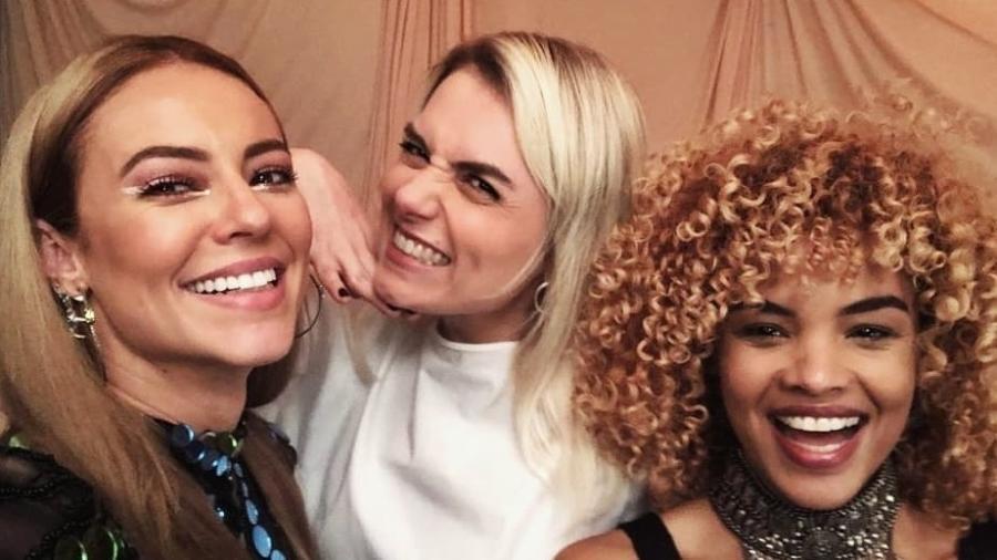 Paolla Oliveira, Monica Iozzi e Lucy Ramos - Reprodução/Instagram