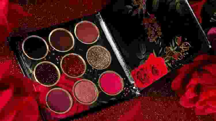 Paleta de sombras Red Roses, da Bruna Tavares - Divulgação - Divulgação