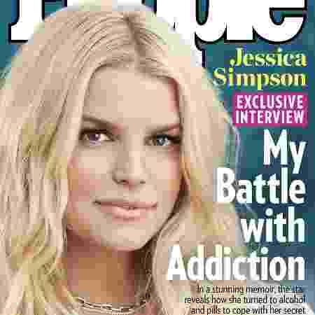 """Jessica Simpson revelou detalhes de sua autobiografia à revista """"People"""" - Divulgação"""