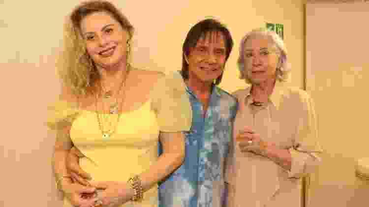 Vera Fischer, Roberto Carlos e Fernanda Montenegro - Rogério Fidalgo/ Agnews