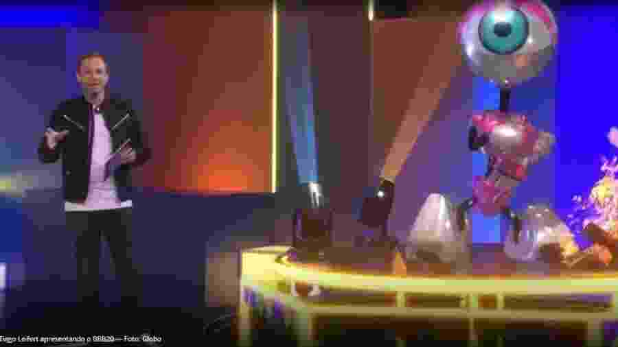 BBB 20: Tiago Leifert apresenta no BBB 20 - Reprodução/Globoplay