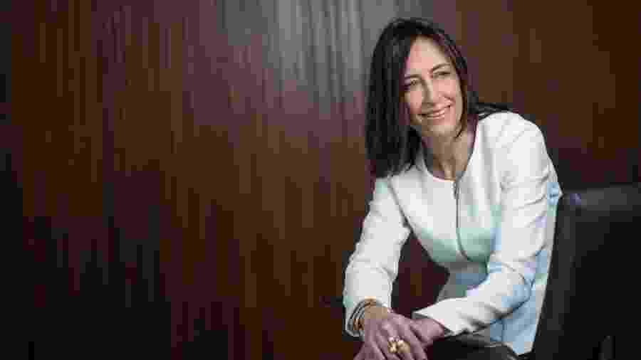 Cristina Palmaka, a presidente da SAP Brasil, multinacional de softwares de gestão - Divulgação