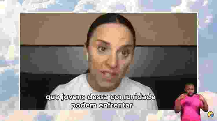 Mel C na parada LGBT online - Reprodução/YouTube - Reprodução/YouTube