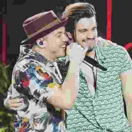 Wesley Safadão e Luan Santana vão comemorar o São João com live - Divulgação