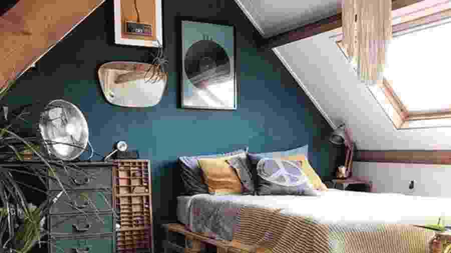 Decorações para montar um quarto no sótão e otimizar o ambiente dentro de casa - Reprodução/Pinterest