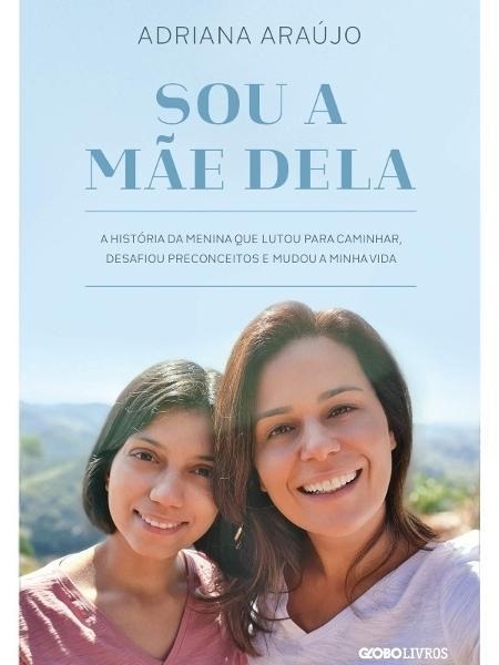 Adriana Araujo capa do livro - Reprodução  - Reprodução