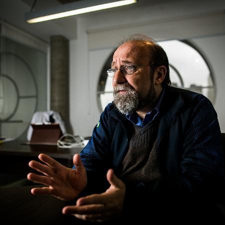 "O neurocientista Miguel Nicolelis: ""Brasil precisaria de um lockdown nacional"" - Bruno Santos/ Folhapress"