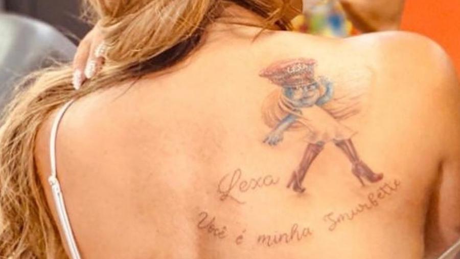 Darlin Ferrattry mostrou tatuagem - Reprodução/Instagram @darlinferrattry