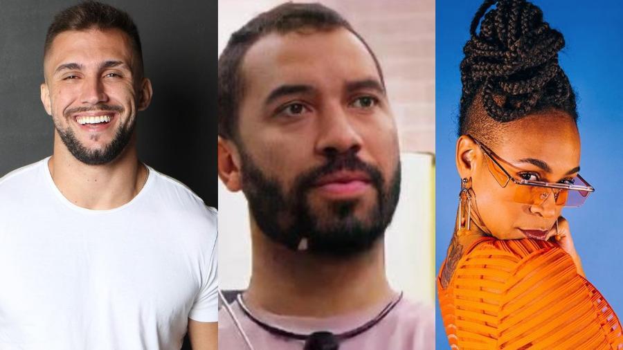 BBB 21: Arthur, Gilberto e Karol Conká no paredão - Reprodução/Instagram