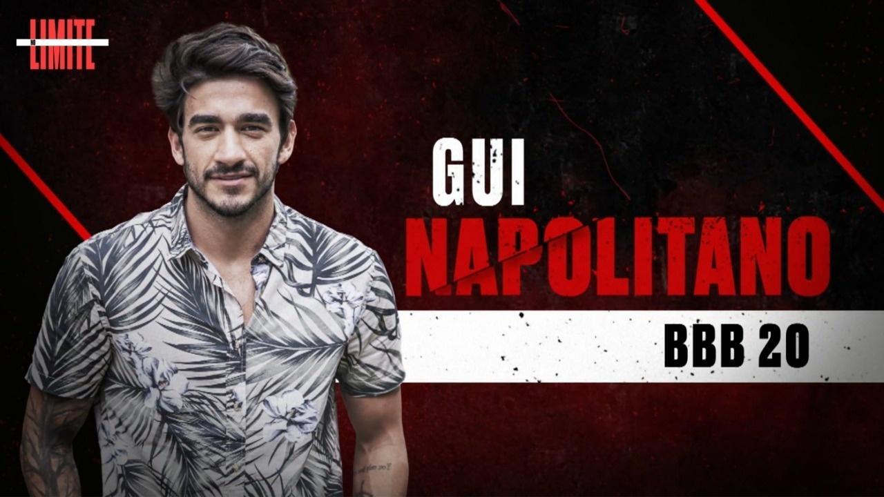 Gui Napolitano, un partecipante di BBB 20 - Globo News