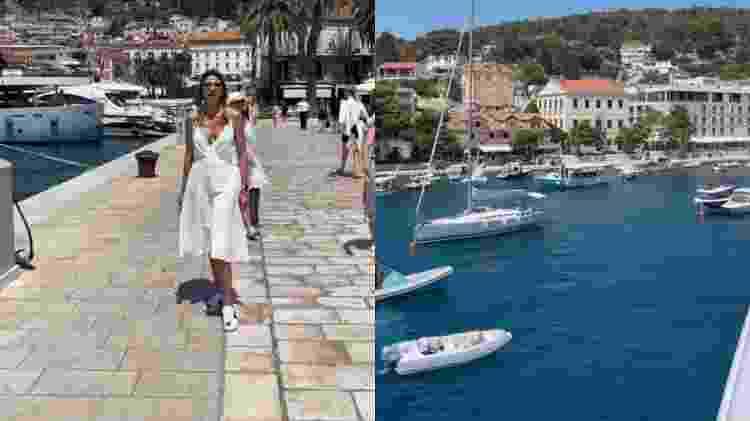 Luciana Gimenez curte férias na Croácia - Reprodução/Instagram - Reprodução/Instagram